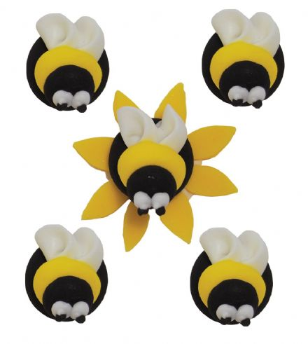 Bumblebee Sugar Decorations